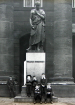 William Huskisson Monument in Liverpool