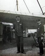Captain Fletcher on the Orita