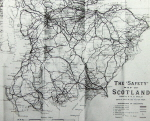 Safety Map of Scotland by H R G Inglis