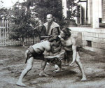 Wrestling by George Wshington Wilson