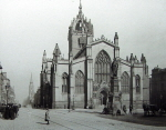 St Giles Cathedral in Edinburgh